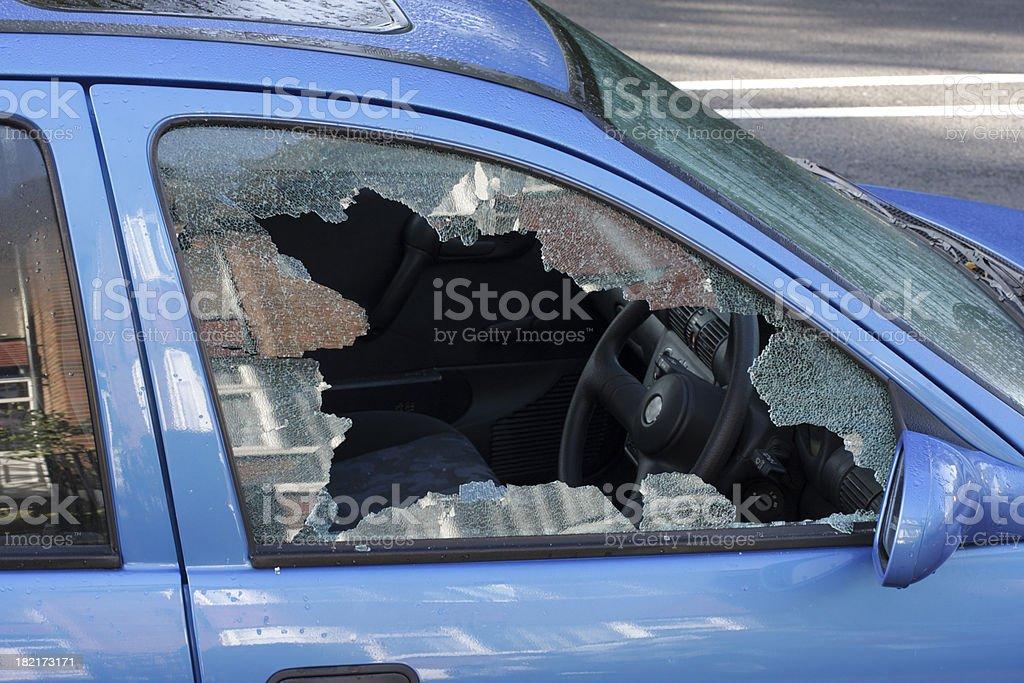 Janela purê de cena de rua Ladrão de Carro - foto de acervo