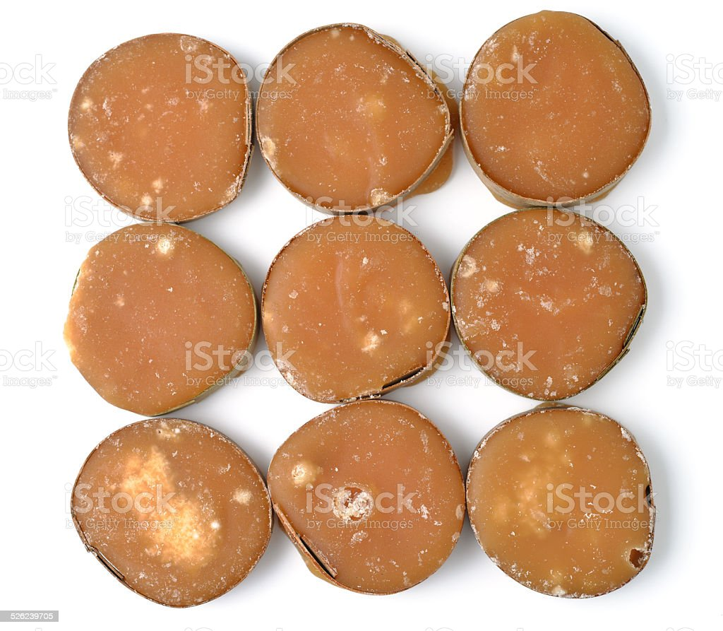 jaggery stock photo