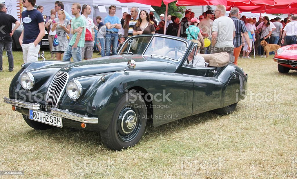 Jaguar Oldtimer Royalty Free Stock Photo