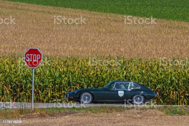 1951 Jaguar E-Type V12 British coupe oldtimer car