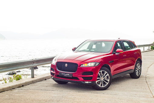 Jaguar Fpace 2016 Test Drive Day Stock Photo - Download Image Now