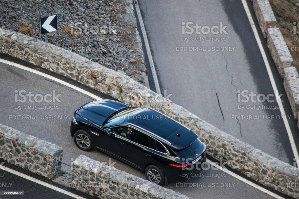 Jaguar F-Pace 3.0 V6 stock photo