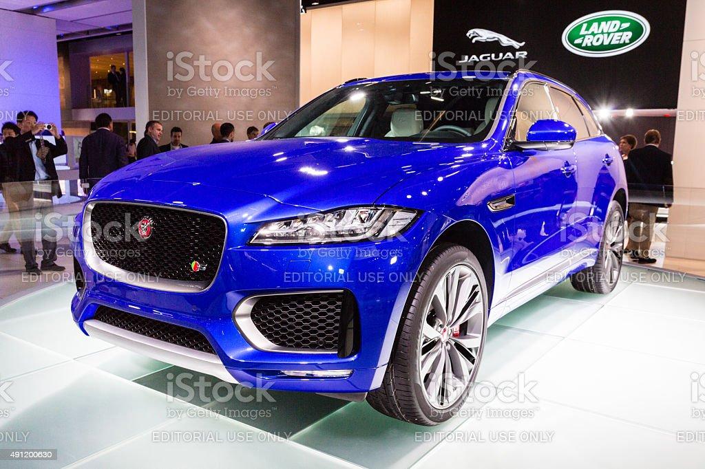 2016 Jaguar F-Pace stock photo