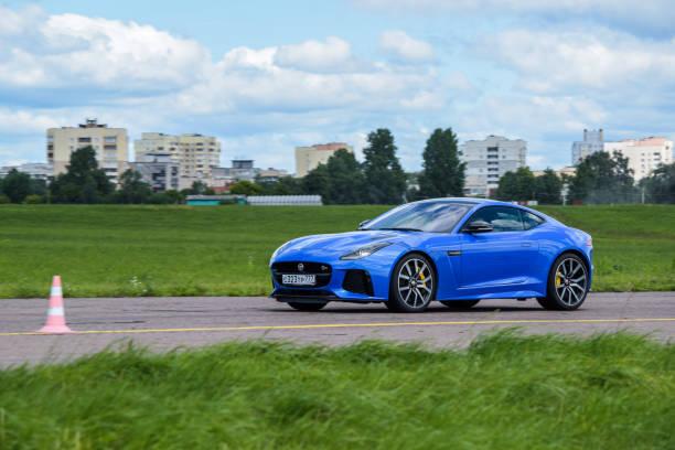 Jaguar F-Type SVR stock photo