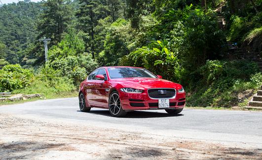 Jaguar Xe 2016 Car Stock Photo - Download Image Now