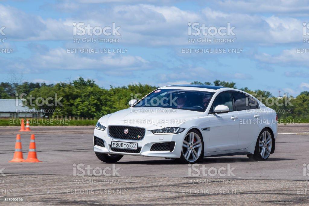 Jaguar XE stock photo