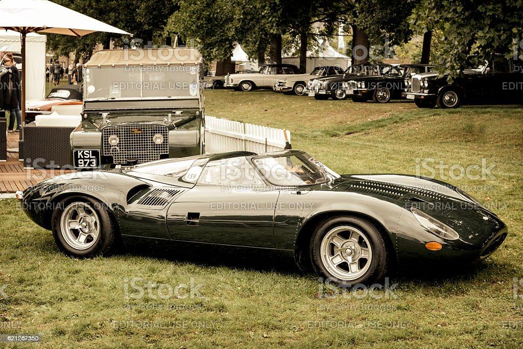 Jaguar XJ13 1960s Le Mans race car prototype - Photo