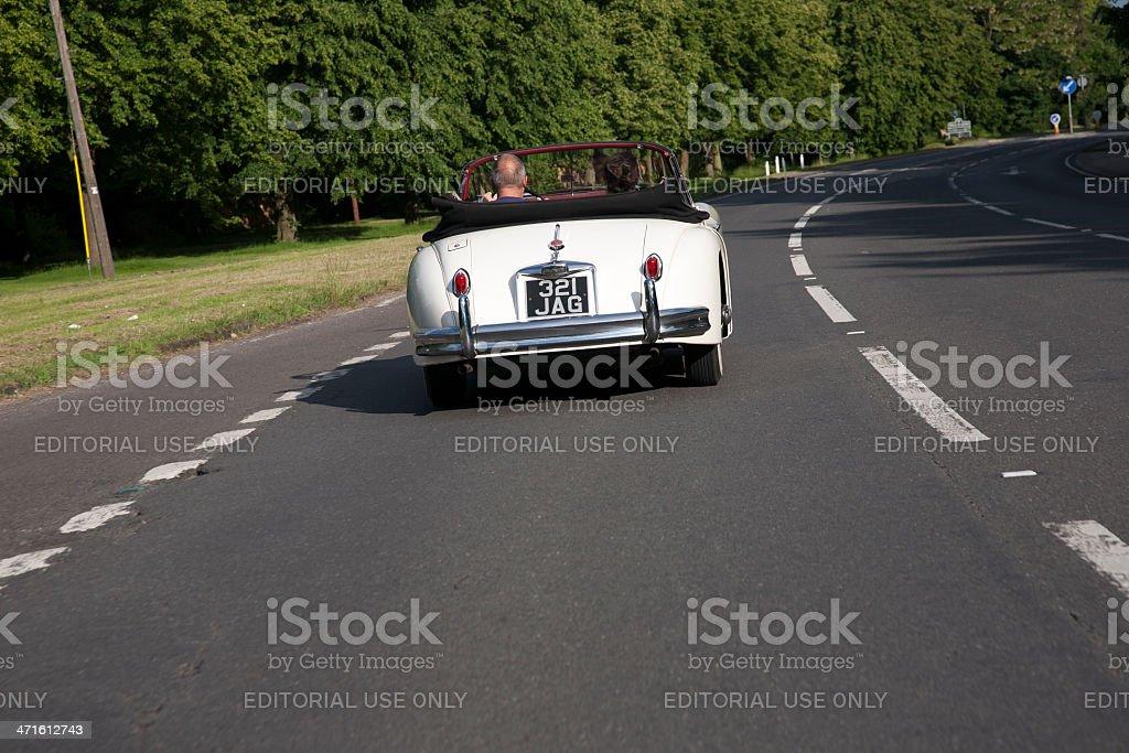 Jaguar XK 150 stock photo