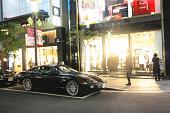 istock Jaguar XK on the streets of Tokyo 469941285