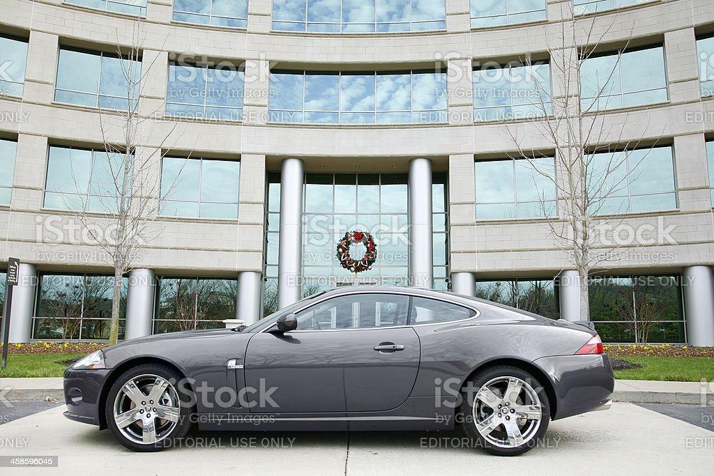 Jaguar XK stock photo