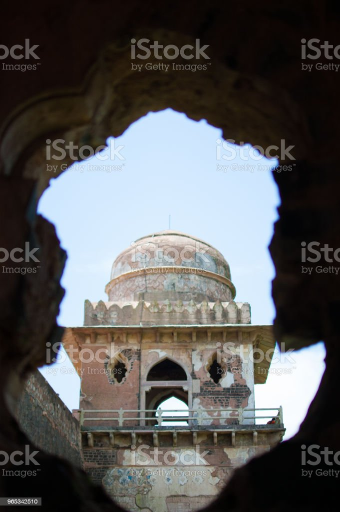 Jahaz Mahal (Ship Palace), Mandu, Madhay Pradesh, India royalty-free stock photo