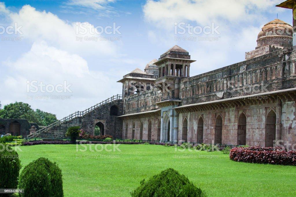 Jahaz Mahal (Ship Palace), Mandu, Madhay Pradesh, India royalty-free stock photo