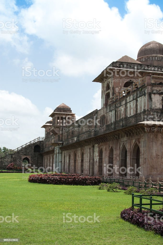 Jahaz Mahal Mandu Madhay Pradesh India Stock Photo & More Pictures of Arch - Architectural Feature