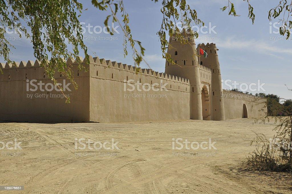 Jahili Fort, Al Ain royalty-free stock photo