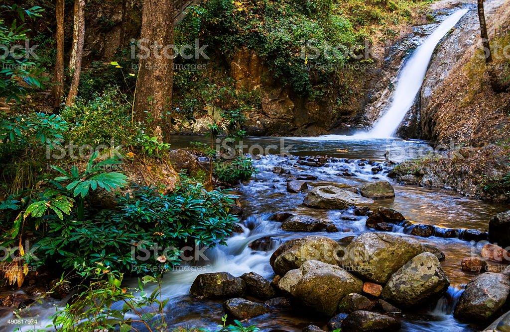 Jai Zon Waterfall stock photo