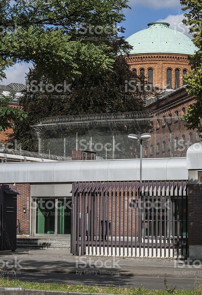 Jail Berlin royalty-free stock photo