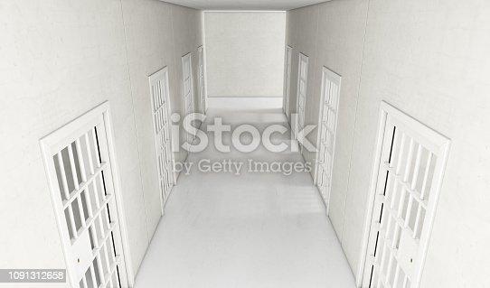 istock Jail Cell Modern Interior 1091312658
