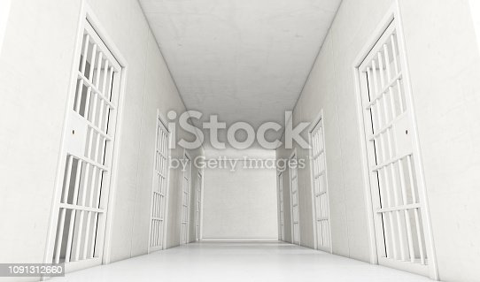 istock Jail Cell Modern Interior 1091312660