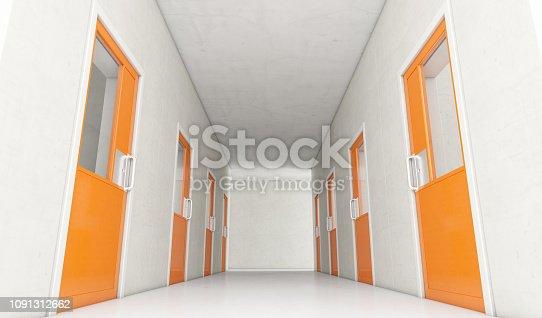 istock Jail Cell Modern Interior 1091312662