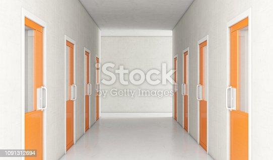 istock Jail Cell Modern Interior 1091312694