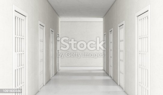 istock Jail Cell Modern Interior 1091600330