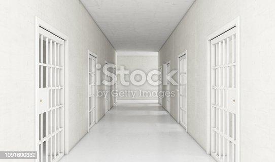 istock Jail Cell Modern Interior 1091600332