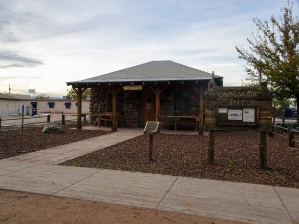 Jail located in historic camp Verde stock photo