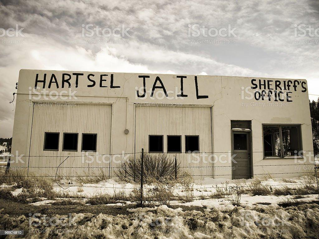 Jail royalty-free stock photo