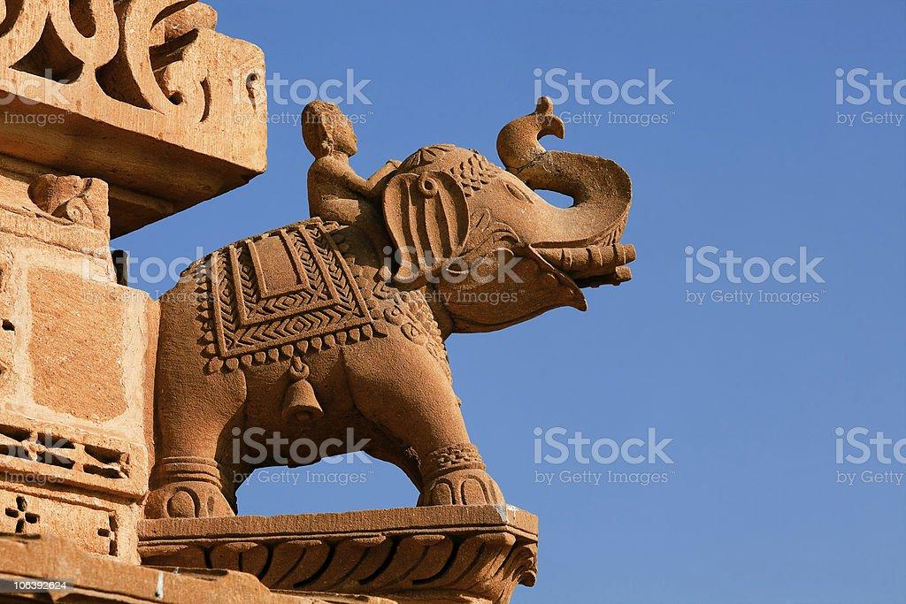 jain temple of amar sagar rajasthan  india stock photo