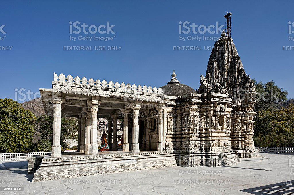 Jain temple, Ranakpur, Rajasthan, India. royalty-free stock photo