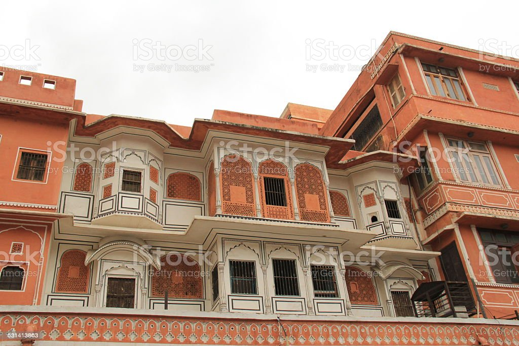 Jaipur Architecture stock photo