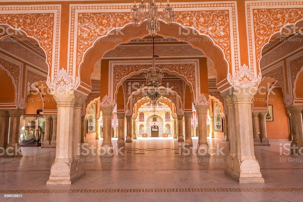 Jaipur Palace in India stock photo