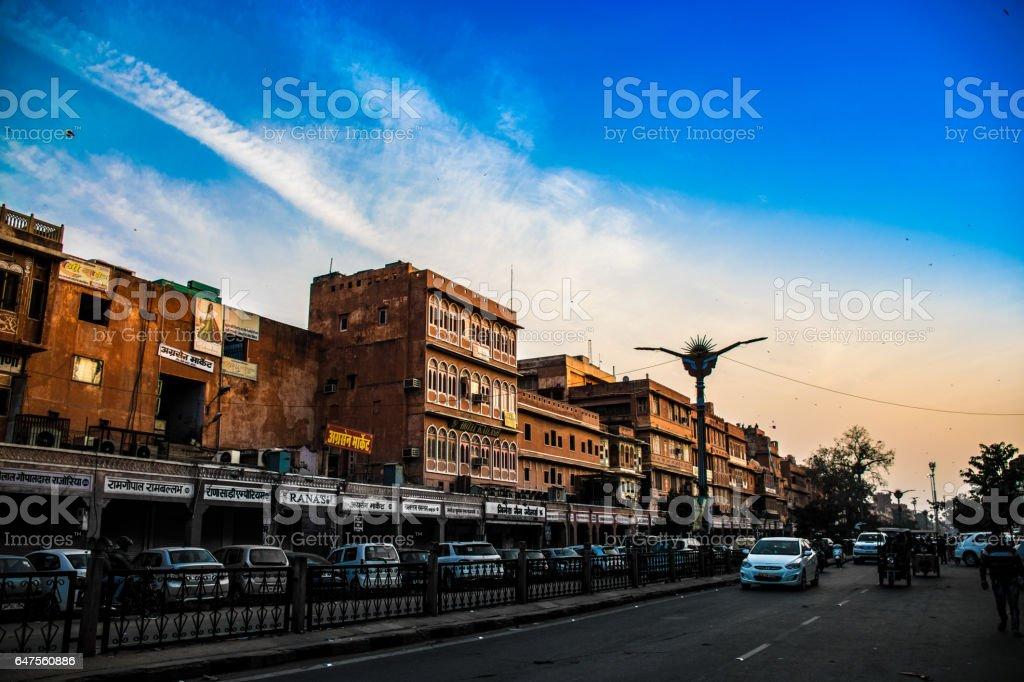 Jaipur - The Pink City stock photo