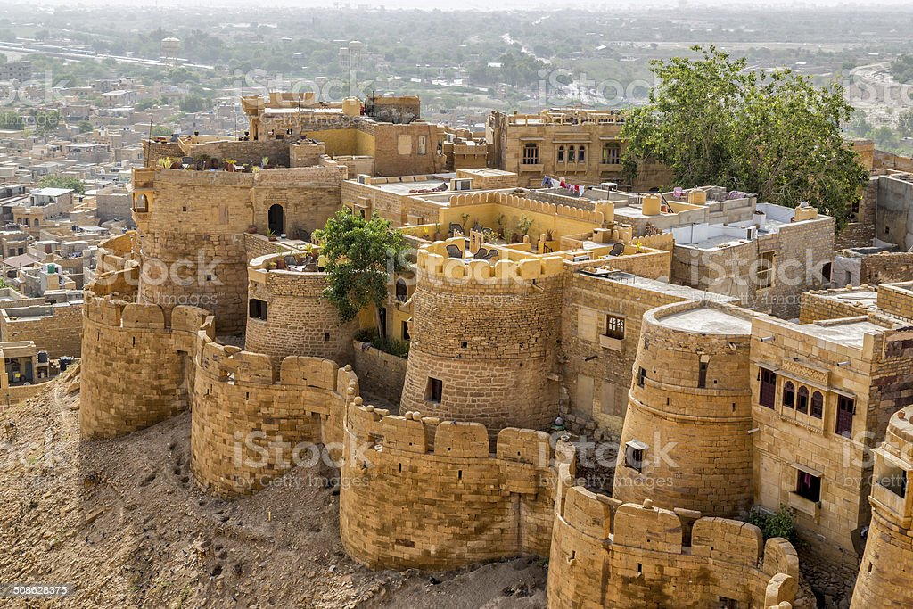 Jaisalmer Fort stock photo