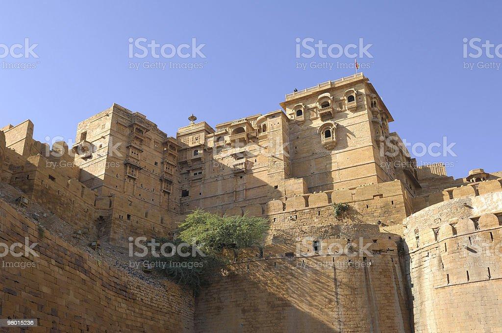 Antico Palazzo Forte di Jaisalmer foto stock royalty-free