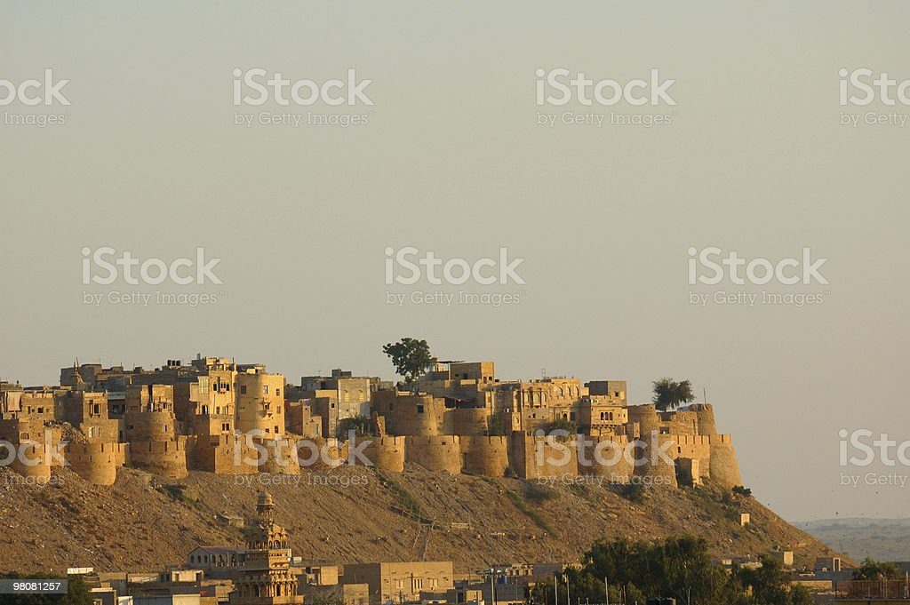 Jaisalmer - old palace fort royalty-free stock photo