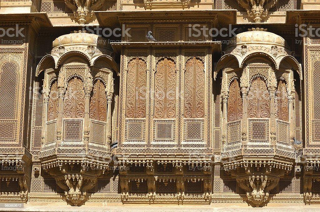 Jaisalmer - old palace royalty-free stock photo