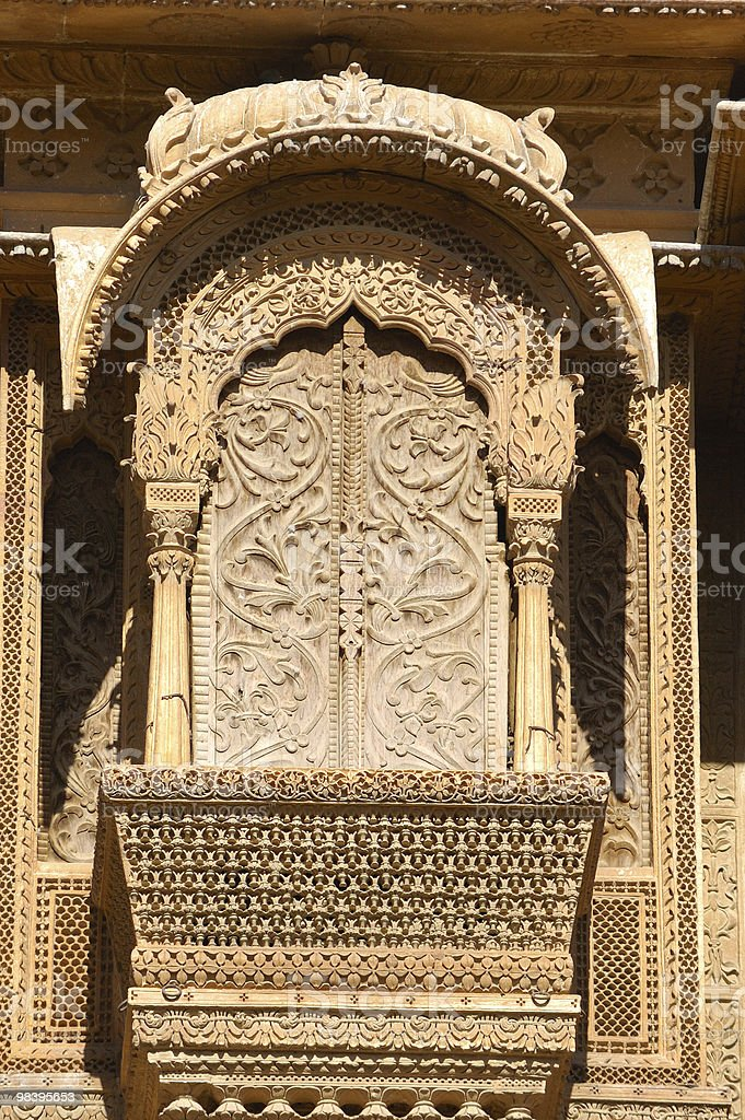 Jaisalmer - old palace royalty-free stock photo