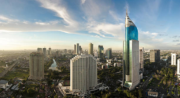 Jakarta Cityscape  indonesia stock pictures, royalty-free photos & images