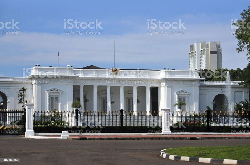 Jakarta, Indonesia: Merdeka Palace stock photo