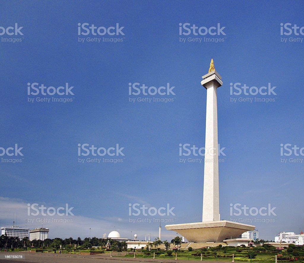 Jakarta, Indonesia: Monas tower stock photo