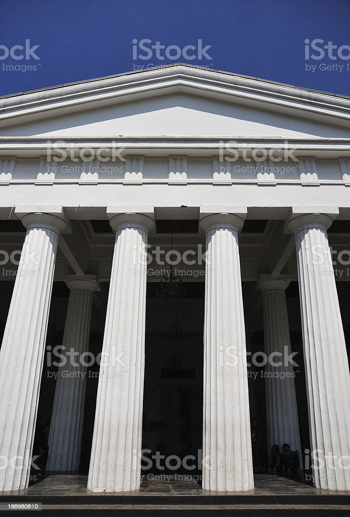 Jakarta, Java, Indonesia: old Court of Justice royalty-free stock photo
