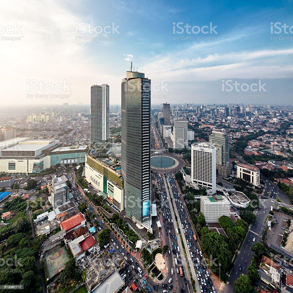 Jakarta Metro Stock Photo