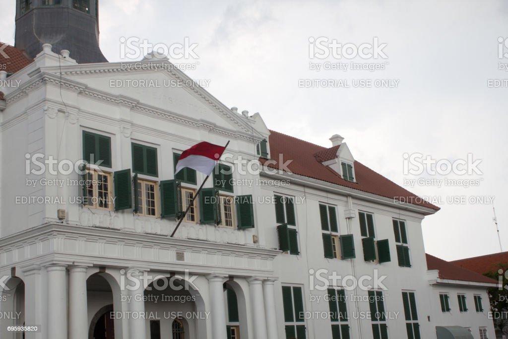 Jakarta ancien hôtel de ville historique bâtiment d'époque hollandaise en Indonésie maintenant un musée - Photo