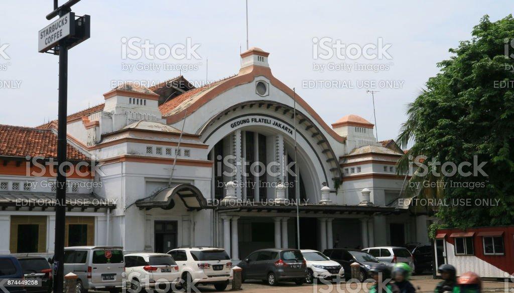 Jakarta Philatelic Office stock photo