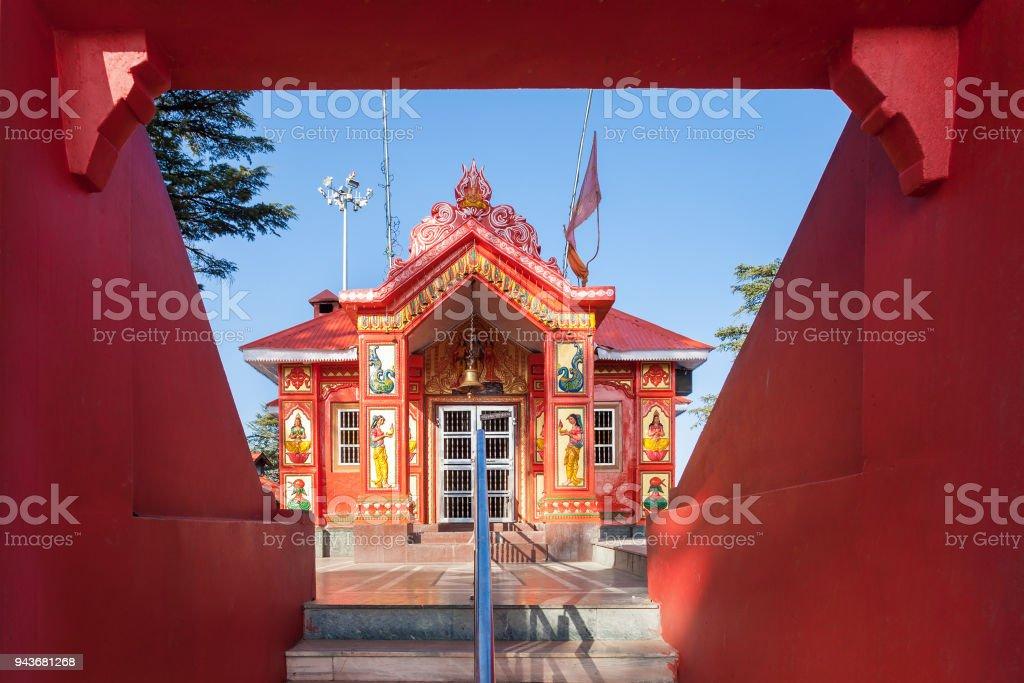 Jakhoo Temple, Shimla stock photo