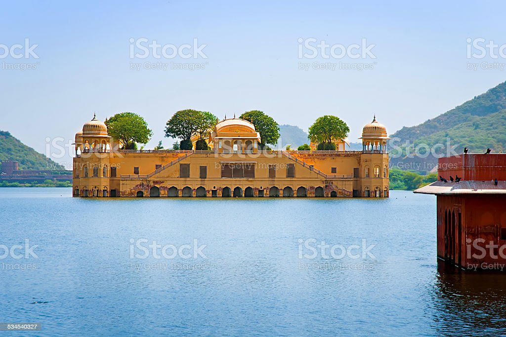 Jal Mahal (Water Palace), Jaipur, Rajasthan, India. royalty-free stock photo