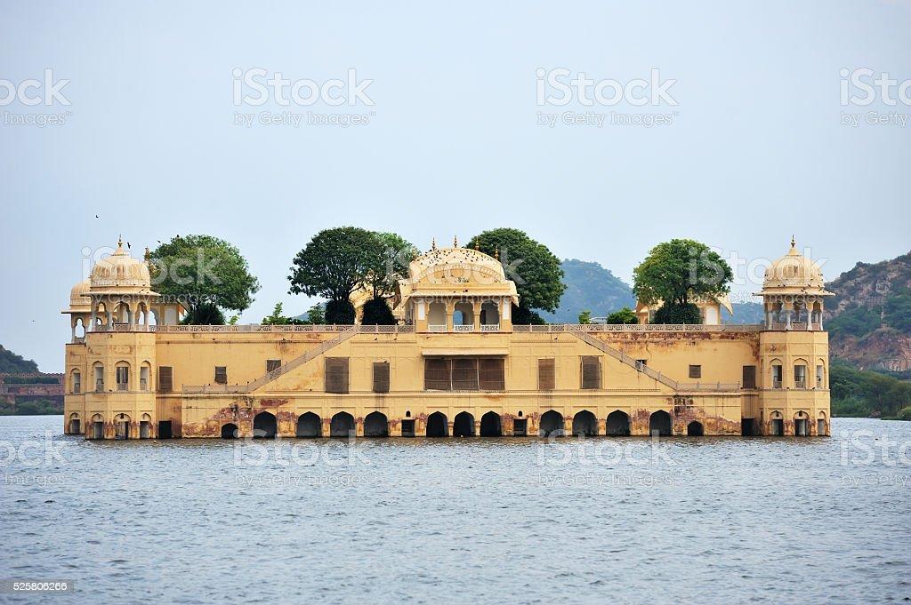 Jal Mahal Palace of Jaipur, India stock photo