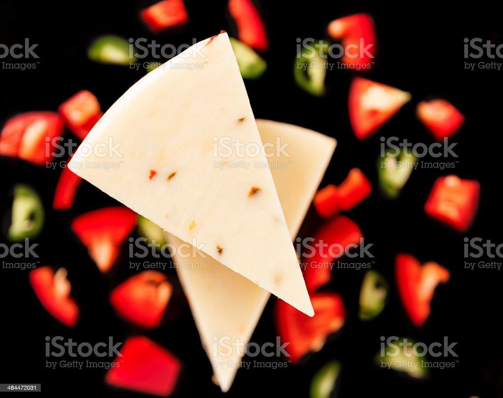 Jalapeno Cheese stock photo