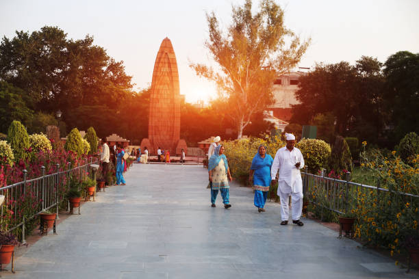 jallianwala bagh martyr's memorial, amritsar punjab, india - memorial day weekend stock pictures, royalty-free photos & images